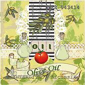 Isabella, MODERN, paintings, ITKE043414,#n# moderno, arte, illustrations, pinturas napkins ,everyday