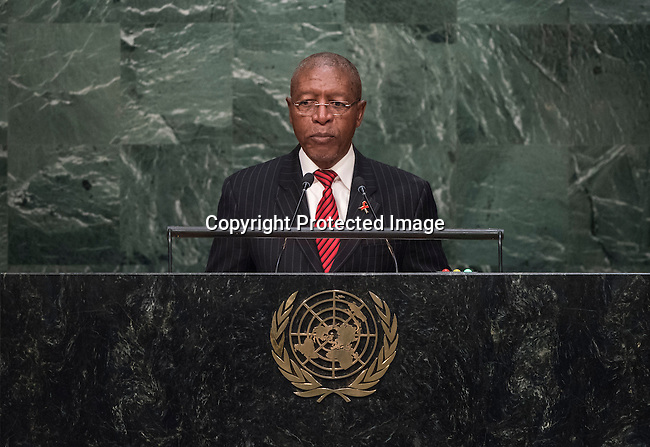 His Excellency Pakalitha Bethuel Mosisili, Prime Minister of the Kingdom of Lesotho<br /> <br /> 6th plenary meeting High-level plenary meeting of the General Assembly (3rd meeting)
