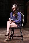 "Lexi Garcia during a Q & A before The Rockefeller Foundation and The Gilder Lehrman Institute of American History sponsored High School student #eduHam matinee performance of ""Hamilton"" at the Richard Rodgers Theatre on May 9, 2018 in New York City."