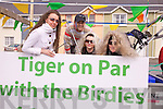 Super Values entry to the Cahersiveen St Patrick's Day Parade featured Tiger Woods with l-r Zofia Lesniak, Rennie Davis, Catherine Walsh & Breda McCarthy.