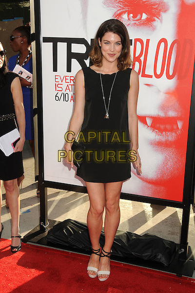 "Lucy Griffiths.HBO's ""True Blood"" Season 5 Premiere, Hollywood, California, USA..May 30th, 2012.full length black sleeveless dress .CAP/ADM/BP.©Byron Purvis/AdMedia/Capital Pictures."