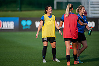 Kansas City, MO - Thursday August 10, 2017: Christina Gibbons during a regular season National Women's Soccer League (NWSL) match between FC Kansas City and the North Carolina Courage at Children's Mercy Victory Field.