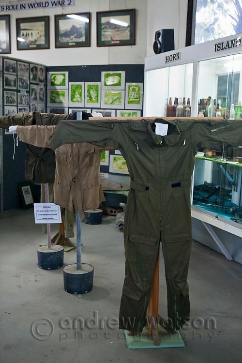 World War II memorabillia at the Torres Strait Heritage Museum.  Horn Island, Torres Strait Islands, Queensland, Australia