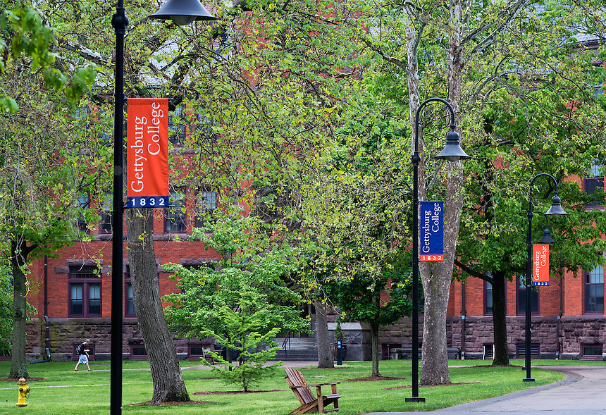 Gettysburg College campus, Pennsylvania, USA