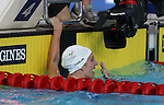 Glasgow 2014 Commonwealth Games<br /> Jazz Carlin in shock after winning gold in the women's 1500m Backstroke.<br /> <br /> 28.07.14<br /> &copy;Steve Pope-SPORTINGWALES