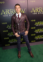 VANCOUVER, BC - OCTOBER 22: Kevin Alejandro at the 100th episode celebration for tv's Arrow at the Fairmont Pacific Rim Hotel in Vancouver, British Columbia on October 22, 2016. Credit: Michael Sean Lee/MediaPunch