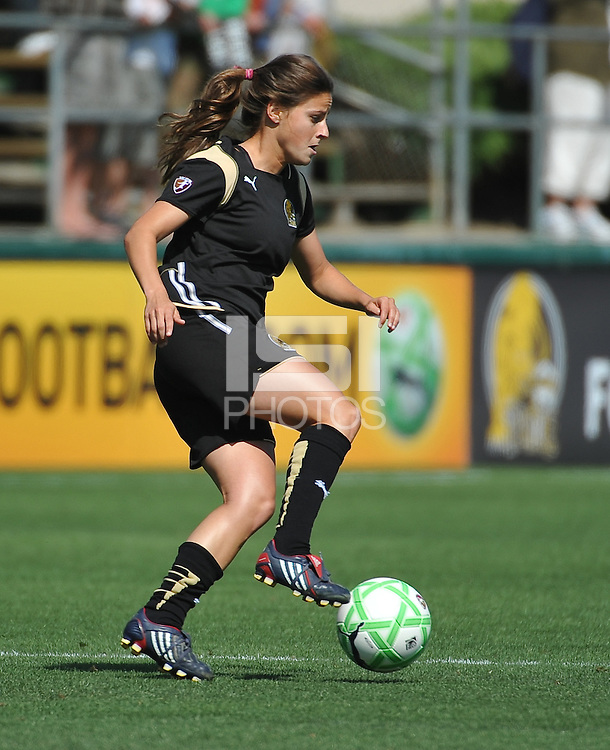 Tina DiMartino. The Los Angeles Sol defeated FC Gold Pride, 2-0, at Buck Shaw Stadium in Santa Clara, CA on May 24, 2009.