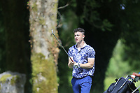 Cathal French (Carton House) during the final round of the Connacht Boys Amateur Championship, Oughterard Golf Club, Oughterard, Co. Galway, Ireland. 05/07/2019<br /> Picture: Golffile | Fran Caffrey<br /> <br /> <br /> All photo usage must carry mandatory copyright credit (© Golffile | Fran Caffrey)