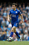 Ben Chillwell of Leicester City during the English Premier League match at the Etihad Stadium, Manchester. Picture date: May 13th 2017. Pic credit should read: Simon Bellis/Sportimage