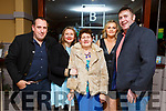Enjoying New Years Eve in Benners Hotel on New Years Eve.<br />  L to r: Barry McGleenon, Margaruite, Bridie Ann and Maura O'Connor and Paul Keogh from Mountcoal.
