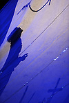 FICELLE D ENCRE....Choregraphie : LEFRANCOIS Sebastien..Decor : LICHTNER Giulio..Lumiere : DE SMEYTERE Guillaume..Costumes : WASSEF Alexandra..Avec :..BERNARD Yan..BENCHAIB Nedjma..DAUVILLIER Carole..BELLALI Mounaim..BOUCHONTOU Hassan..EL KABAB Amine..EL LOUAZ Bader..EL MOUSSAOUI Samir..EL MOUSSAOUI Yassine..JEAN MARIE Brice..Lieu : Theatre de Suresnes Jean Vilar..Cadre : Festival Suresnes Cites Danse 2010..Ville : Suresnes..Le : 21 01 2010..© Laurent PAILLIER / photosdedanse.com..All rights reserved
