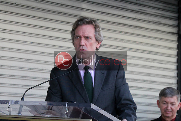 Hugh Laurie<br /> at the Hugh Laurie Star on the Hollywood Walk of Fame Ceremony, Hollywood, CA 10-25-16<br /> David Edwards/DailyCeleb.com 818-249-4998