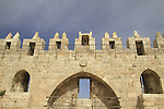 Israel, Jerusalem, Damascus gate of the Old City