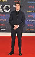 Connor Swindells at the &quot;Maniac&quot; UK TV premiere, Southbank Centre, Belvedere Road, London, England, UK, on Thursday 13 September 2018.<br /> CAP/CAN<br /> &copy;CAN/Capital Pictures
