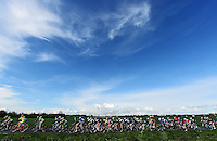 Picture by Alex Broadway/SWpix.com - 30/04/2016 - Cycling - 2016 Asda Women's Tour de Yorkshire: Otley to Doncaster - Yorkshire, England - The peloton makes it way through the Yorkshire countryside.