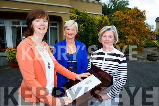 Emer Moynihan President of the Killarney Soroptimist with Anne Wren and Mona Looney who are launching a Girls Public Speaking Competition