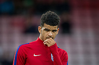 Dominic Solanke (Liverpool) of England U21 ahead of the FIFA World Cup qualifying match between England and Slovakia at Wembley Stadium, London, England on 4 September 2017. Photo by PRiME Media Images.