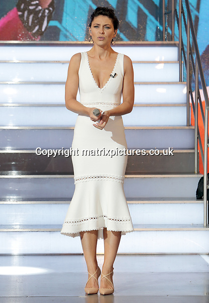 NON EXCLUSIVE PICTURE: MATRIXPICTURES.CO.UK<br /> PLEASE CREDIT ALL USES<br /> <br /> WORLD RIGHTS<br /> <br /> Emma Willis hosts the show ahead of the new season at Elstree Studios in Hertfordshire, England. <br /> <br /> JUNE 5th 2017<br /> <br /> REF: GBH 171154