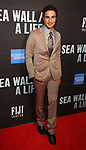 """Zac Posen attends the Broadway Opening Night performance of """"Sea Wall / A Life"""" at the Hudson Theatre on August 08, 2019 in New York City."""
