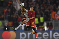 Stephan El Shaarawy Roma,Marcos Alonso Chelsea.<br /> Roma 31-10-2017  Stadio Olimpico<br /> Champions League, Fase a gironi.<br /> AS Roma - Chelsea<br /> Foto Antonietta Baldassarre / Insidefoto