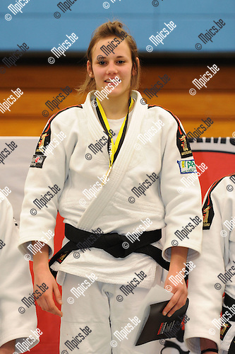 2011-02-13 / Judo / seizoen 2010-2011 / VK U20 Herentals / -57 / Nica Antonis..Foto: mpics