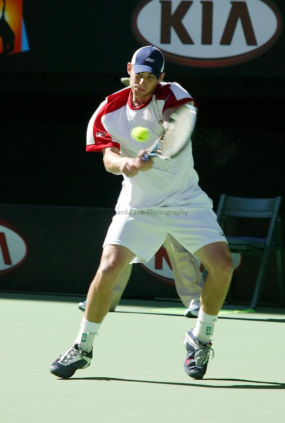 Andy Roddick, Australian Tennis Open 2004, Melbourne, Australia