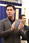 """Richard H. Blake during the open press rehearsal for """"A Bronx Tale - The New Musical""""  at the New 42nd Street Studios on October 21, 2016 in New York City."""