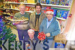 Coustomers and Staff of Sheehys Hardware, Abbeyfeale prepare for the Christmas rush last Thursday, l-r Mossie Gleeson, Vincent Sheehy(prop), Richard Woulfe and Tony Quinn(staff)