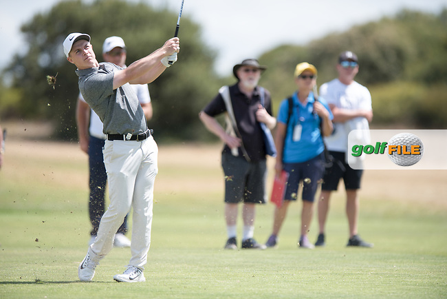 Conor Purcell (IRL) during the 2nd round of the VIC Open, 13th Beech, Barwon Heads, Victoria, Australia. 08/02/2019.<br /> Picture Anthony Powter / Golffile.ie<br /> <br /> All photo usage must carry mandatory copyright credit (© Golffile | Anthony Powter)