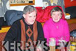 Martin & Margaret Fitzmaurice heralding in the new year at McCarthy's Bar, Finuge.