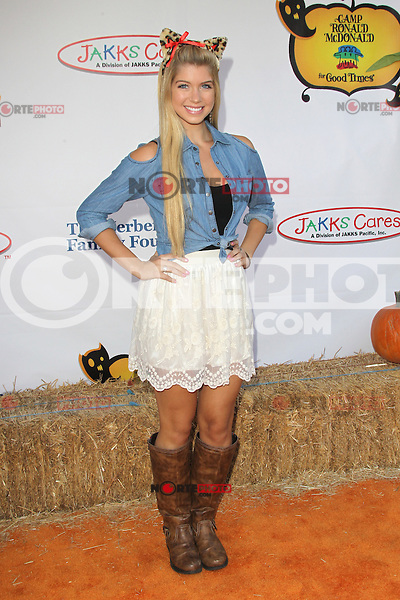 UNIVERSAL CITY, CA - OCTOBER 21:  Allie Deberry at the Camp Ronald McDonald for Good Times 20th Annual Halloween Carnival at the Universal Studios Backlot on October 21, 2012 in Universal City, California. ©mpi28/MediaPunch Inc. /NortePhoto