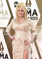 NASHVILLE, TN - NOVEMBER 13:  Dolly Parton at the 53rd Annual CMA Awards at the Bridgestone Arena on November 13, 2019 in Nashville, Tennessee. (Photo by Scott Kirkland/PictureGroup)