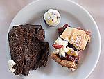 Dessert, Buffet, St. Michel Restaurant, Miami, Florida