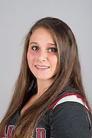 STANFORD, CA - Danielle McNair of Stanford University Women's Gymnastics.