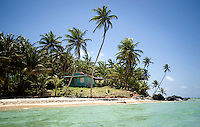 Once on Little Corn Island, accommodations range from hotels with air conditioning and TV located next to the dock and restaurants, for $50 a night, to private rustic bungalows along the less populated Northern coast of the small island for $250 a week. Despite the heated 20 minute walk through dense forests, the North coast offers cleaner, bug free, white sand beaches with clear waters and more privacy...PHOTOS/ MATT NAGER