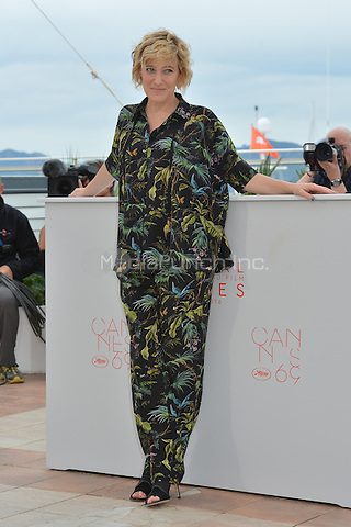 Valeria Bruni Tedeschi at the Photocall &acute;Ma Loute` - 69th Cannes Film Festival on May 13, 2016 in Cannes, France.<br /> CAP/LAF<br /> &copy;Lafitte/Capital Pictures /MediaPunch ***NORTH AND SOUTH AMERICA ONLY***