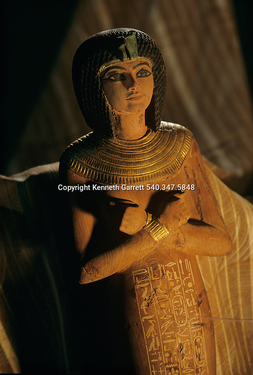 Wooden shabti, Tutankhamun and the Golden Age of the Pharaohs, Page 250
