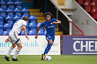 Izzy Brown of Chelsea U23 in action during the pre season friendly match between Aldershot Town and Chelsea U23 at the EBB Stadium, Aldershot, England on 19 July 2017. Photo by Andy Rowland / PRiME Media Images.