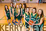 Mercy Mounthawk  U16 girls B in all-ireland basketball final Pictured Front Katlyn Crow, Katie Crow, Molly O'Carroll, Back Ciara Moynihan, Maeve Buckley, Rachel McEnire, Dakota Carter O'Flynn, Rachel Godley, Orla O'Reilly