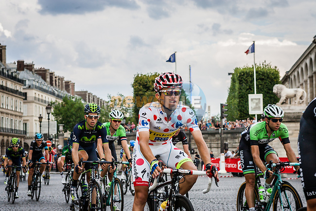 Rafal Majka (POL) of Tinkoff-Saxo, Tour de France, Stage 21: Évry > Paris Champs-Élysées, UCI WorldTour, 2.UWT, Paris Champs-Élysées, France, 27th July 2014, Photo by Pim Nijland