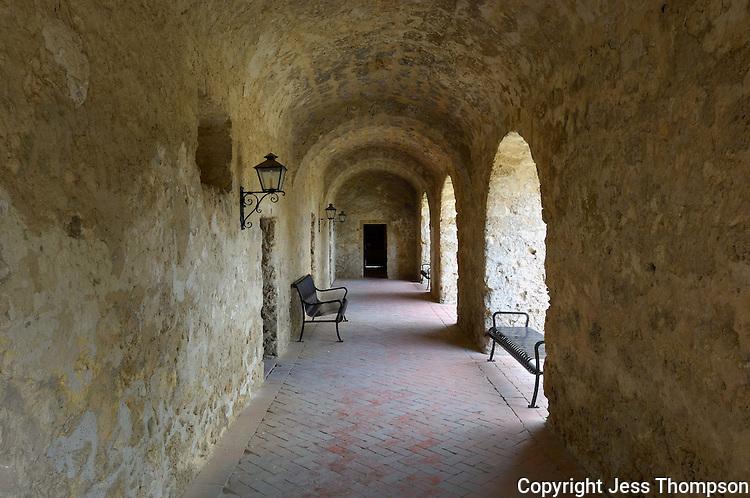 Archway, Mission Conception, San Antonio, Texas