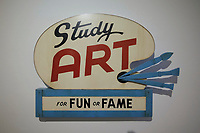 57th Art Biennale in Venice - Viva Arte Viva. Giardini.<br /> International Pavillion.<br /> John Waters, Study Art Sign, 2007
