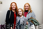 Pictured at Romeo and Juliet by Ballet Ireland, at Siamsa Tire Theatre, Tralee, on Saturday night last were l-r: Charlotte Keane, Ella Killington and Anne Keane, Knocknagoshel.