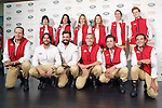 Sara Vega, Ana Bono, Genoveva Casanova, Virginia Troconis, Mercedes Peralta Revuelta, Bimba Bose, Michi Primo de Rivera, Joaquin Cortes, Jose Bono, Alex Corretja, David Bustamante and Enrique Solís during the photocall of the VI Land Rover Discovery Challenge. June 15, 2015. (ALTERPHOTOS/Acero)