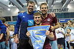 Stuttgart, Germany, February 04: During the KLAFS Final4 final prize giving ceremony on February 4, 2018 at SCHARRena in Stuttgart, Germany. (Photo by Dirk Markgraf / www.265-images.com) *** Local caption ***