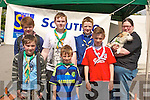 HEARTY SCOUTS: Members of the 1st Kerry scouts group who help the Irish Heart Foundation by taking part in the mini marathon on Sunday front l-r: Sean Cahill, Sean Murphy and Daniel Murphy. Back l-r: Paul Pitman, Jack McGaley, Cillian O'Riordan and Jessica Hillard (group leader).