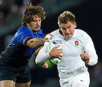 Rugby World Cup Auckland  England v France  Quarter Final 2 - 08/10/2011. TOBY FLOOD (England)   .Photo Frey Fotosports International/AMN Images