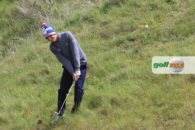 Charles Larcelet (FRA) on the 4th during Round 1 of the The Amateur Championship 2019 at The Island Golf Club, Co. Dublin on Monday 17th June 2019.<br /> Picture:  Thos Caffrey / Golffile<br /> <br /> All photo usage must carry mandatory copyright credit (© Golffile | Thos Caffrey)