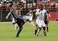 Bruno (e) jogador do Figueirense durante partida entre as equipes do Flamengo-SP X Figueirense- SC realizada no Estádio Municipal Antônio Soares de Oliveira Guarulhos (SP), válida pela 3ª Rodada do Grupo X da Copa São Paulo de Futebol Junior 2012, nesta quarta feira (11). (FOTO: ALE VIANNA - NEWS FREE).