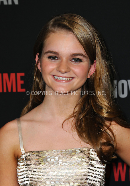 WWW.ACEPIXS.COM<br /> <br /> June 25 2013, LA<br /> <br /> Kerris Dorsey arriving at a screening of 'Ray Donovan' at DGA Theater on June 25, 2013 in Los Angeles, California<br /> <br /> By Line: Peter West/ACE Pictures<br /> <br /> <br /> ACE Pictures, Inc.<br /> tel: 646 769 0430<br /> Email: info@acepixs.com<br /> www.acepixs.com